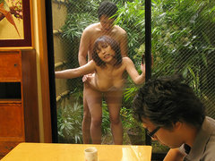 Yui Ayana moans while being pounded rough